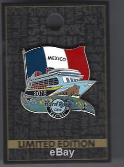 Hard Rock Cafe 2018 Cruise Événement Pin Set 2018-ltd 125