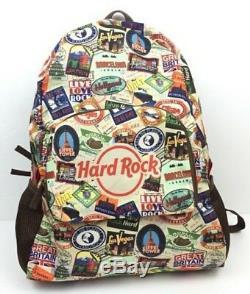 Hard Rock Cafe 2018 Packable Passport Sac À Dos Nwt