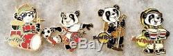 Hard Rock Cafe 2019 Ensemble Complet De Tous Les 12 Kazoo Mystery Panda Pins # 513641