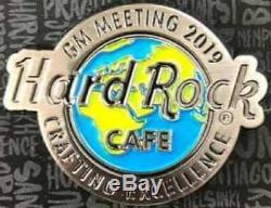 Hard Rock Cafe 2019 Gm Réunion Du Personnel Pin Crafting Excellence Le220 Hrc # 532927