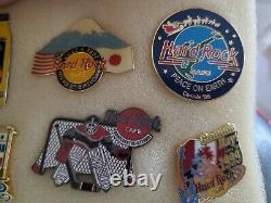 Hard Rock Cafe 27 Pin Random Lot Anniversary, Spécialité, Commémorations Tous Nice