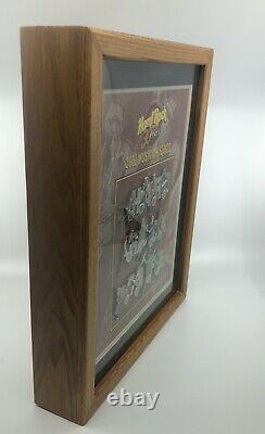 Hard Rock Cafe 30 Ans 2001 Musician Series Salt Lake 12 Pin Set/ Cadre En Bois
