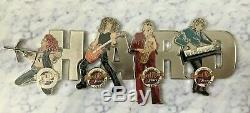 Hard Rock Café 30e Anniversaire Du Musicien Série Pin Collection (framed) 12 Pins