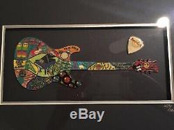 Hard Rock Café 30e Anniversaire Puzzle Pin Set Encadrée 289/500