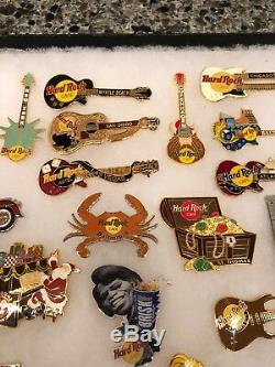 Hard Rock Cafe 37 Épingles Lot 2 Mags. No Dups, Édition Limitée, Australie, Fille Rare