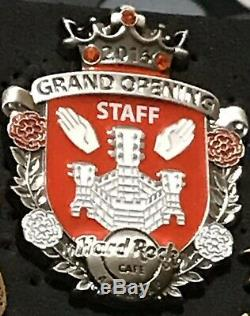 Hard Rock Café Anvers Ouverture Officielle Pin Personnel