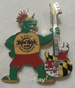 Hard Rock Cafe Assorted 10 Épingles John Lennon Éditions Limitées Toronto Guitar