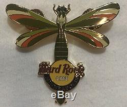 Hard Rock Cafe Assorted 10 Épingles Lot Dragons Guitar La Plupart Des Éditions Limitées De Houston