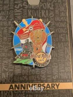 Hard Rock Cafe Asuncion Ouverture Officielle Pin Personnel
