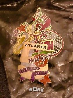 Hard Rock Cafe Atlanta 1997 Personnel Du 5ème Anniversaire De L'or 5ème Anniversaire