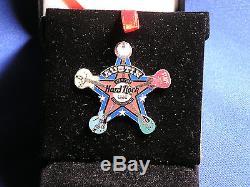 Hard Rock Cafe Austin Grande Fête D'ouverture Prototype Staff Sheriff Badge Pin Le
