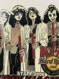 Hard Rock Cafe Baiser Rio De Janeiro Personnel Limité Merry Kissmas Pas À Vendre