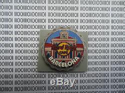 Hard Rock Café Barcelone 2006 Bouteille Cap Limited Edition Hrc Série Pin