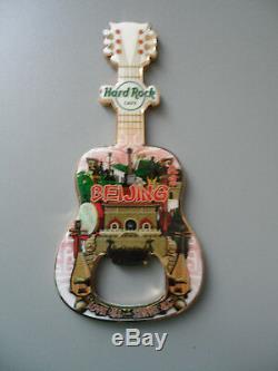 Hard Rock Cafe Beijing City Tee Design Ouvre-bouteille Avec Logo Et Logo 2