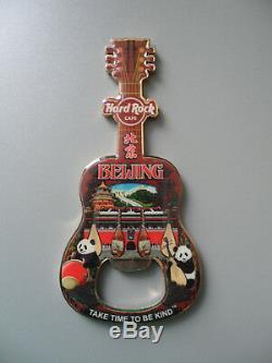 Hard Rock Cafe Beijing City Tee Design Ouvre-bouteille Avec Un Logo Et Un Logo 1