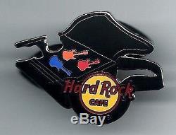 Hard Rock Cafe Boucles D'oreilles En Ligne. Set 3 Pins 2013. P. 4