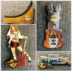 Hard Rock Cafe Bucarest Grande Ouverture 2007 Collection De Pins Hrc Le Roumanie