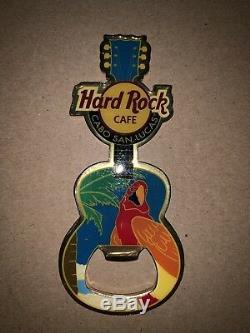 Hard Rock Cafe Cabo San Lucas Mexique Guitare Décapsuleur Aimant
