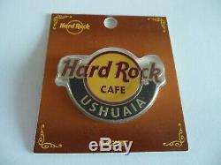 Hard Rock Cafe Classique Ushuaia Ville Aimant De Logo Nouveau (pas Décapsuleur)