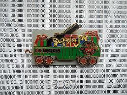 Hard Rock Cafe Copenhagen 2003 Europeen Christmas Train Limited Edition Pin Set