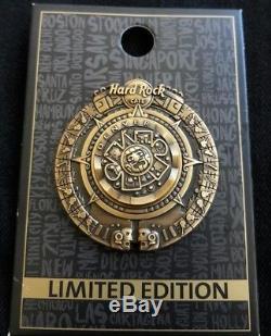 Hard Rock Café Denver 3d Épingle De Calendrier Aztèque Maya Rare # 64968