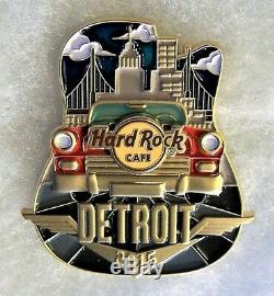 Hard Rock Cafe Detroit Edition Limitée Original Icône Série City Pin # 84320