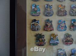 Hard Rock Café En Ligne City Icon Cadre De La Série 51 Set & 3 Prototype Pins Le20