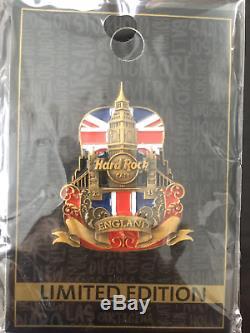 Hard Rock Cafe En Ligne Coupé Guitare Série Angleterre 2015
