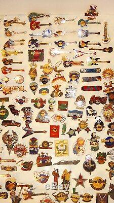Hard Rock Cafe Ensemble De Lot De Broches Collection De 200 Épingles