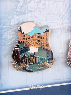 Hard Rock Cafe Europe Icon City Série Goujon Ensemble 25 Goupilles With3 Prototype Le 10