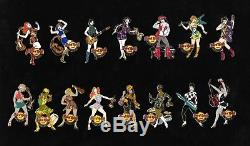 Hard Rock Cafe Européenne Go-go Girls Pin Série 2008 Ensemble Complet Le Plus Bas Le100