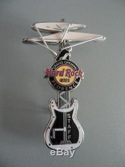 Hard Rock Cafe Florence Grand Opening Leonardo Da Vinci Hélicoptère Personnel Pin