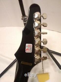 Hard Rock Cafe Guitare Epiphone 2009 Cancer Du Sein De L'édition Limitée