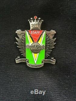 Hard Rock Cafe Guyane Grand Opening Pin Personnel Limited Edition