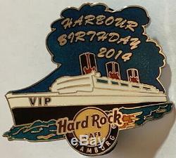 Hard Rock Cafe Hambourg 2014 825ème Anniversaire Du Port Du Nip Vip Du Port 2014 Le 50 Hrc # 78457