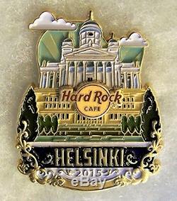 Hard Rock Cafe Helsinki Édition Limitée Original Icône Série City Pin # 85010
