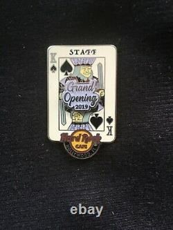 Hard Rock Cafe Hollywood, Fl Grand Opening Staff Limited Edition Broche