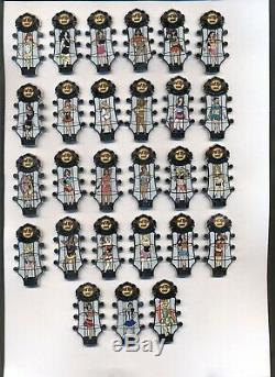 Hard Rock Cafe & Hôtel Go Go Girls Series 2014 115 Pins
