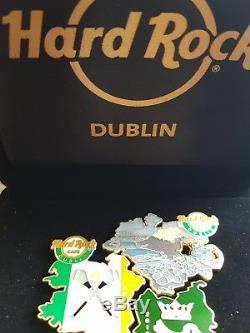 Hard Rock Cafe Hrc Irlande-dublin Carte De L'irlande Broches 2018