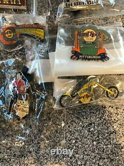 Hard Rock Cafe Hrc Pittsburgh Pin Lot (16)