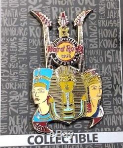 Hard Rock Cafe Hurghada 12th Anniversary / Série King & Queen Egyptian Épingle Ann