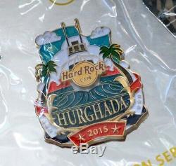 Hard Rock Cafe Hurghada Hrc Ville Icône Série Épingle 2015 Le 100