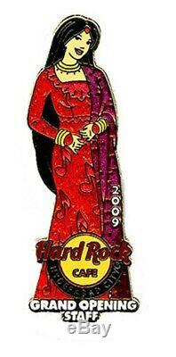 Hard Rock Cafe Hyderabad Grand Opening Managers Personnel Pin