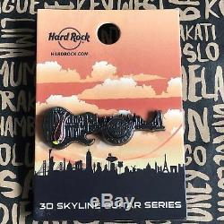 Hard Rock Cafe Istanbul Fermé 3d Skyline Guitare Série 16 Broches Le 200
