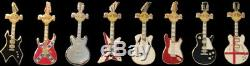 Hard Rock Cafe Kobe Japan 2003 Boîte De Fermeture Pour Café, Coffret 8, Guitare, Pin Le 100 # 20361