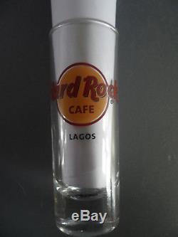 Hard Rock Cafe Lagos Nigéria Lettre Noire Hrc Logo Shot Glass / Glassware