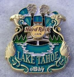 Hard Rock Cafe Lake Tahoe, Icône Originale Série City Pin # 84451 Le 100