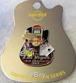 Hard Rock Cafe Las Vegas Série D'icônes De La Ville D'origine Pin # 84250 Le 100