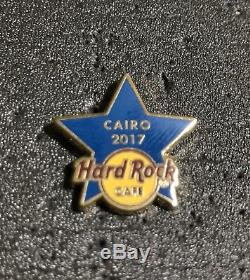 Hard Rock Cafe Le Caire Blue Star & Staff Training Pin
