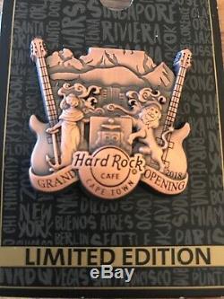 Hard Rock Cafe Le Cap 2018 Inauguration Officielle De La Crête De Lion En Bronze # 101579
